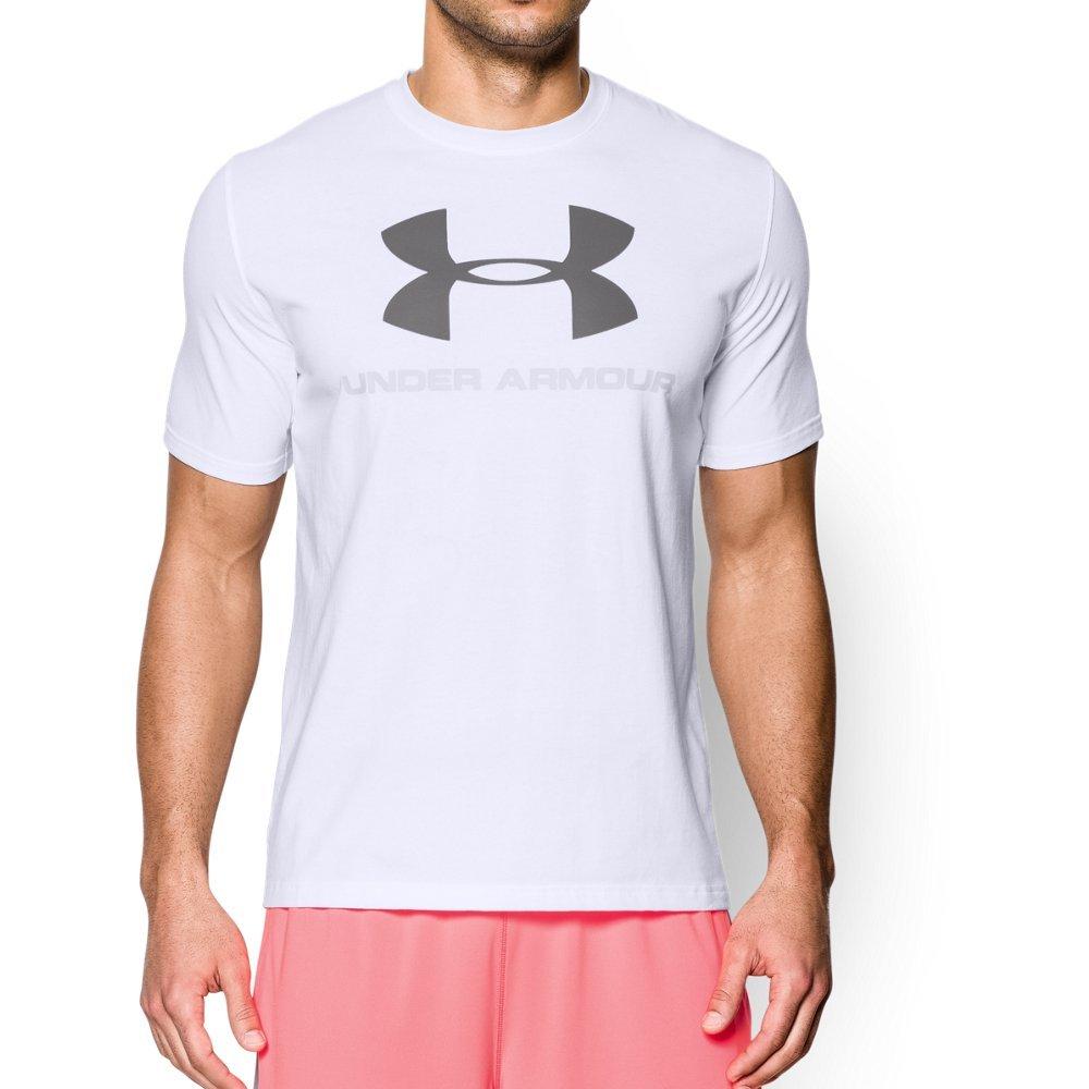 Under Armour Men's Sportstyle Logo T-Shirt, White