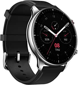 Amazfit GTR 2 Smartwatch with 3GB Music Storage, GPS, Heart Rate, Sleep, Stress, SpO2 Monitor, 14-Day Battery Life, Bluetooth Phone Calls, 90 Sports Modes, Water-Resistant (Classic)