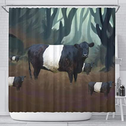Amazon Simply Cool Trends Belted Galloway Cattle Cow Print