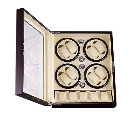 Lucky-Yu - Caja de relojes para guardar relojes y relojes, caja de reloj, caja de encendido, ...