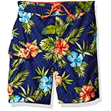 Tommy Bahama boys Palm Leaves Swim Short