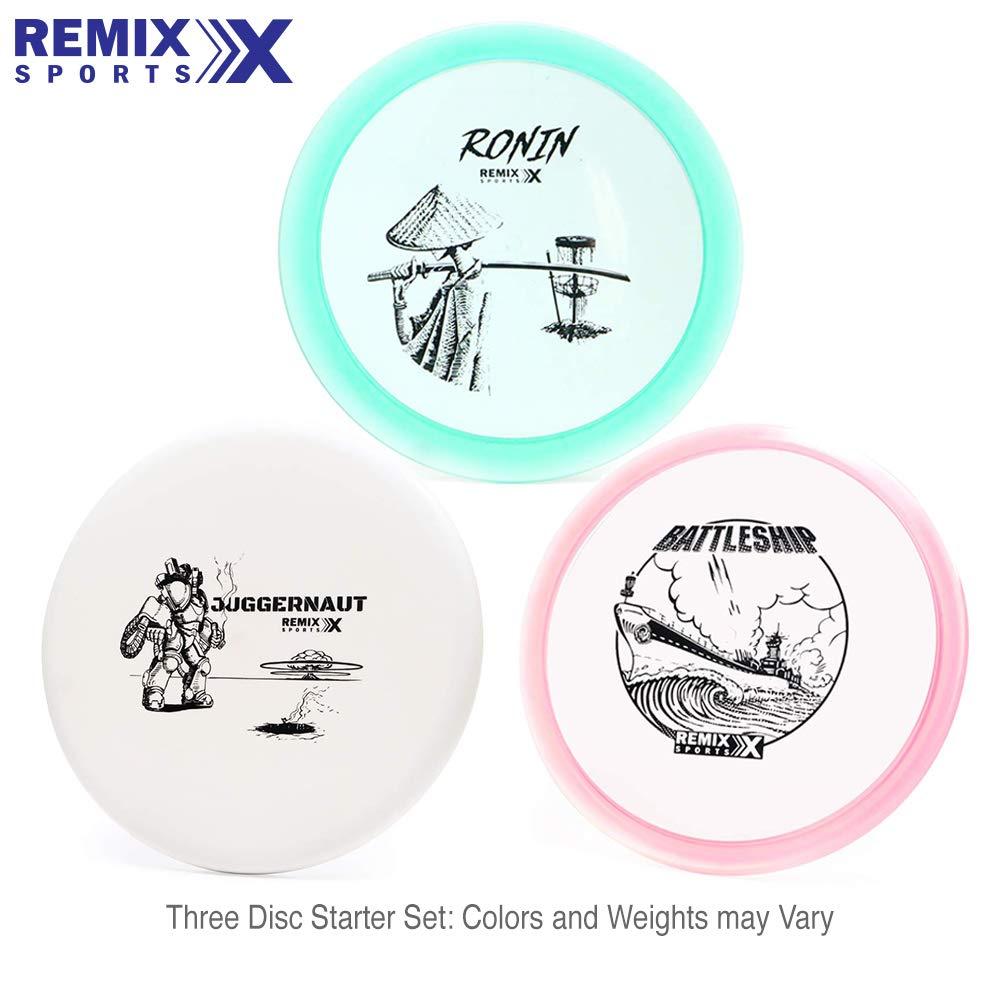 Remix Discs Starter Set by Remix Disc Golf