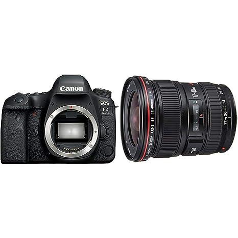 Canon EOS 6D MK II - Cámara digital réflex de 26.2 MP + Objetivo ...