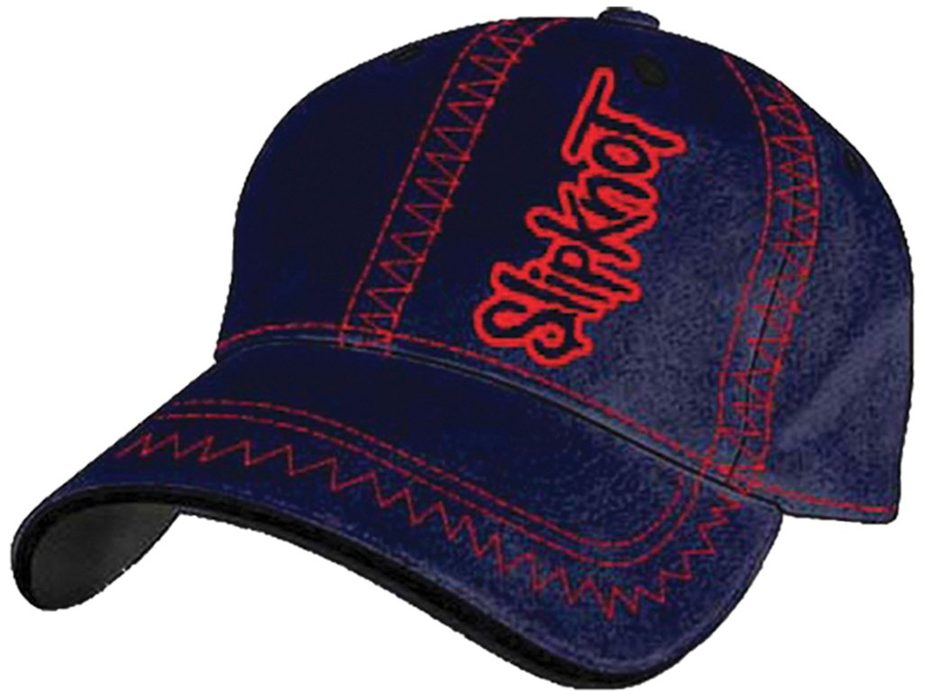Bioworld Merchandising - Slipknot casquette baseball Zig-Zag S/M ...