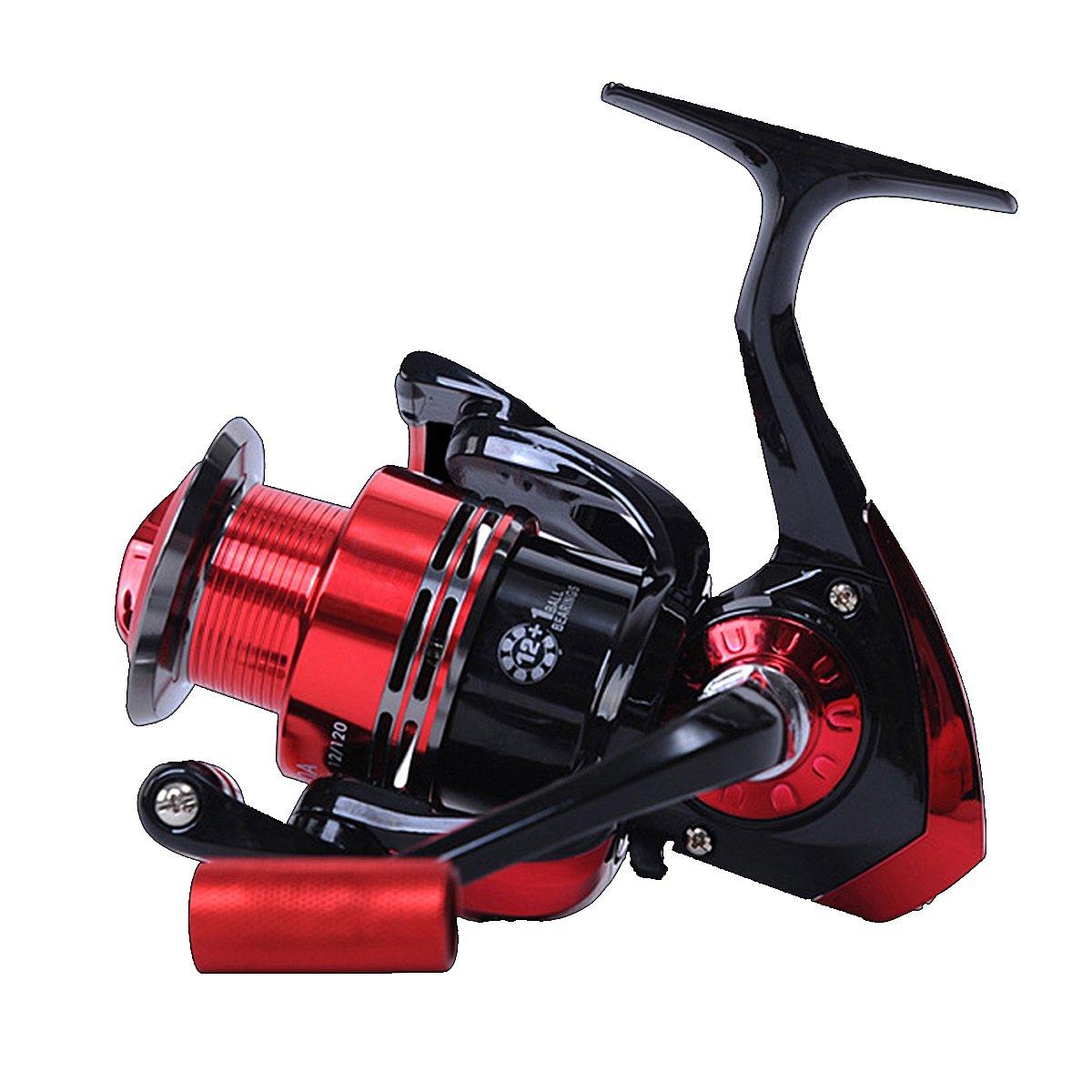QOJA zanlure jm1000 12+1bb 5.2:1 spinning fishing reel right/left by QOJA