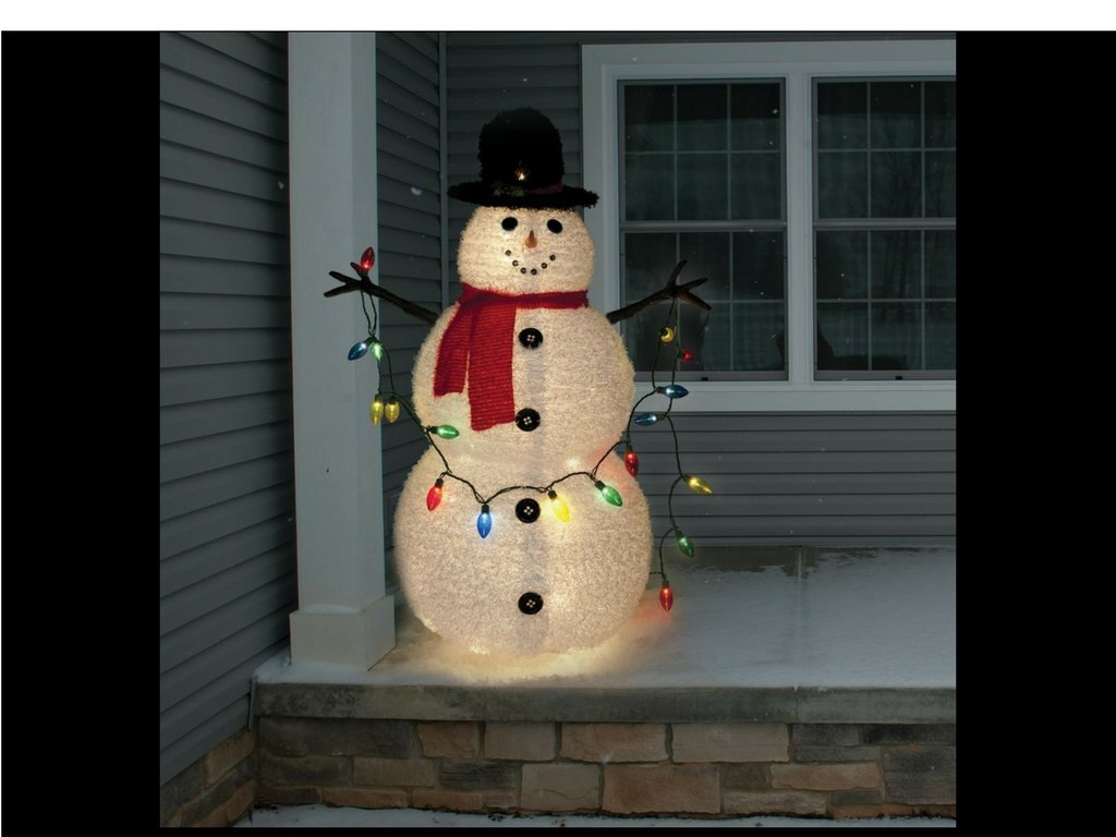 Snowman Outdoor Decoration