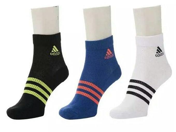 Adidas Original 3 Pair Sports High Quality Cotton Ankle Socks 21 Cm