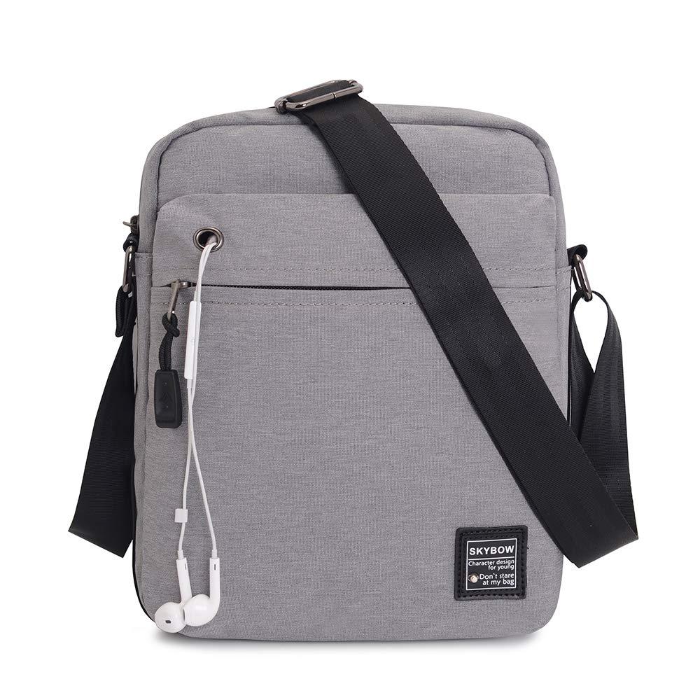 d83afce3a4 Shoulder Bag Men Vodabang Casual Cross Body Sling Messenger Bag for  Business Sport Hiking Travel 8878