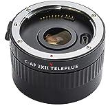 Viltrox C-AF 2x Magnification Teleconverter Extender Auto Focus Mount Lens Compatible with Canon EOS Ef Lens 5d Ii 7d 6d…