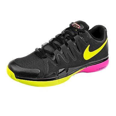 0906a419f2ef Image Unavailable. Image not available for. Colour  Roger Federer Zoom  Vapor 9.5 Tour All Court Shoe Men - Black ...