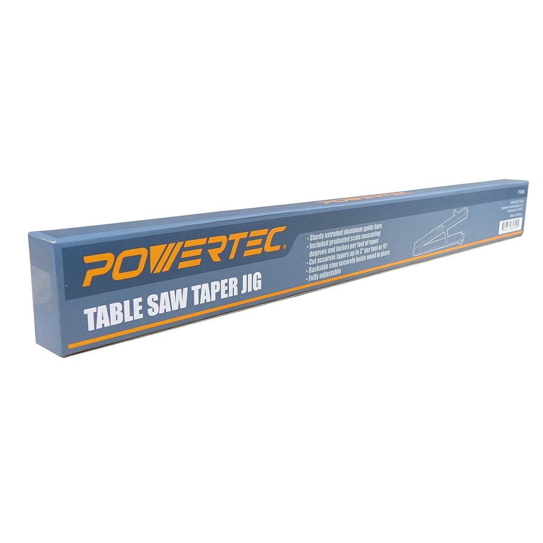 Powertec 71035 Table Saw Taper Jig Amazon