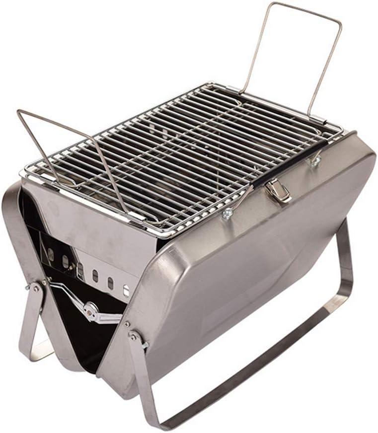 バーベキューグリル、折り畳み式ピクニックキャンプチャコール BBQ グリル、調節可能なポータブルガーデンバーベキューグリルブロイラー屋外クッキング