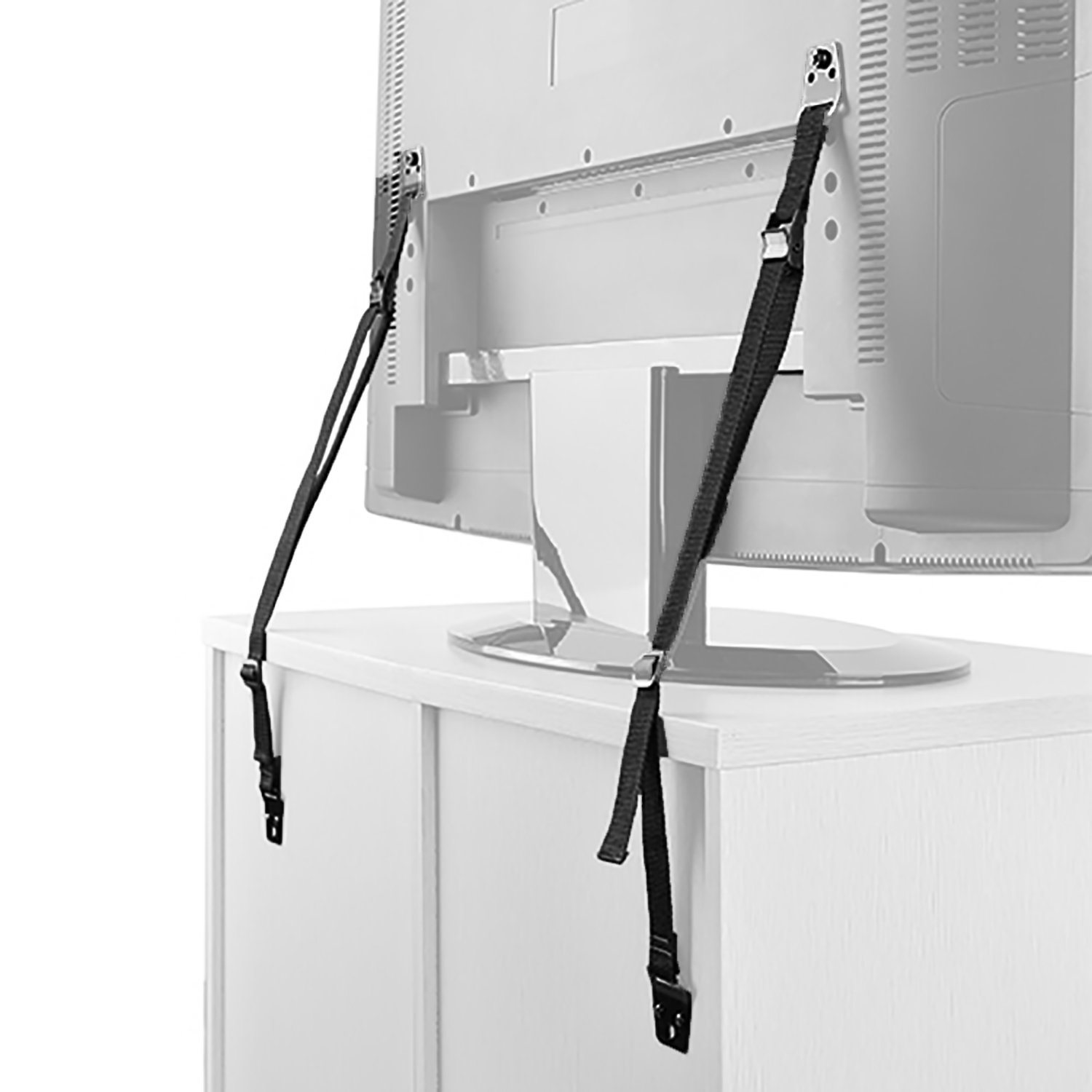 flat furniture. WALI Universal Heavy Duty Anti-Tip Straps For Baby Safety Protection Fit Most Flat Screen Furniture