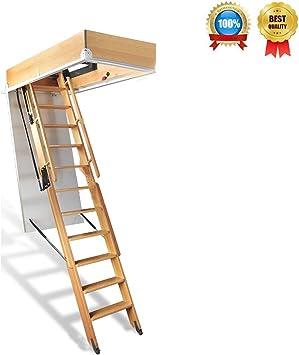 Maria# Escalera para áticos (tamaño: 2-3Metres): Amazon.es: Bricolaje y herramientas