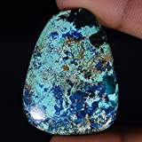 Radheygovind gems 50.50Cts.100% Natural Blue Azurite Fancy Cab Fine Quality Loose Gemstones