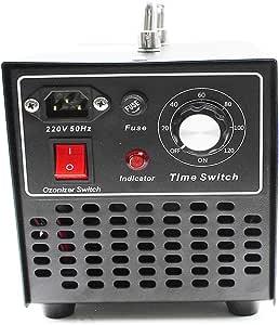 obller 10000 MG/H Comercial profesional Ozono purificador de aire ozono Generador Ozono dispositivo con temporizador para habitaciones, Humo, coches y mascotas ...