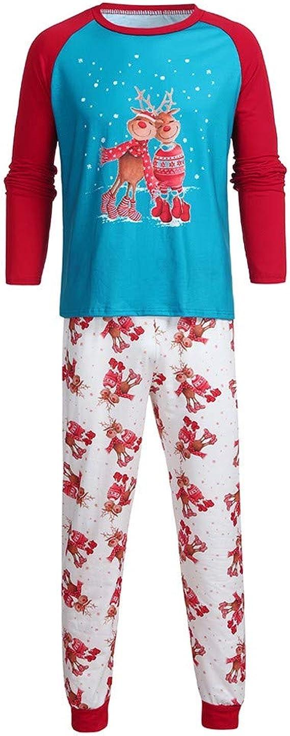 cinnamou Conjunto De Pijamas Familiares Top Estampado De ...