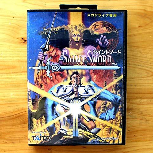 Saint Sword 16 Bit Sega Md Game Card With Retail Box For Sega Mega Drive For Genesis US - Saint Sword