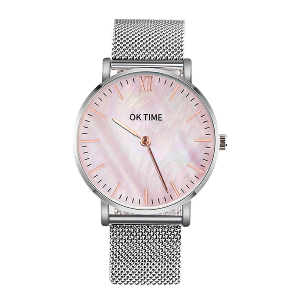 chengzhijianzhu_ Quartz Watches Men's 2019 Newest Ladies Stainless Steel Ultra Thin Men's Women Watches Quartz Wrist Watches for Men Teen Girls Boys Ladies
