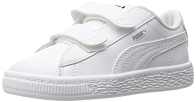 dae2c1eb7d9d9 PUMA Kids' Basket Classic L Bts V Inf Sneaker