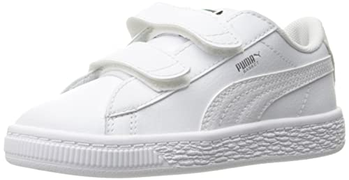 31720657b481 PUMA Kids  Basket Classic L BTS V Inf Sneaker White Silver-Amazon
