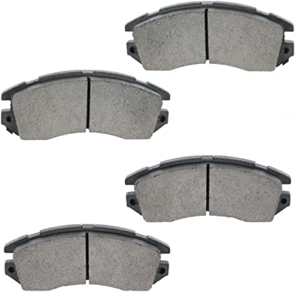 Rear Premium Posi Ceramic Disc Brake Pad Set for Subaru Legacy Outback New