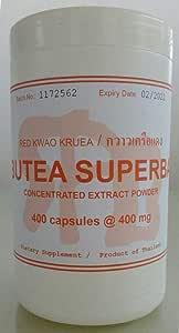Tongkatali.org's Butea superba extract, 400 caps @ 400 mg, 139 AUD