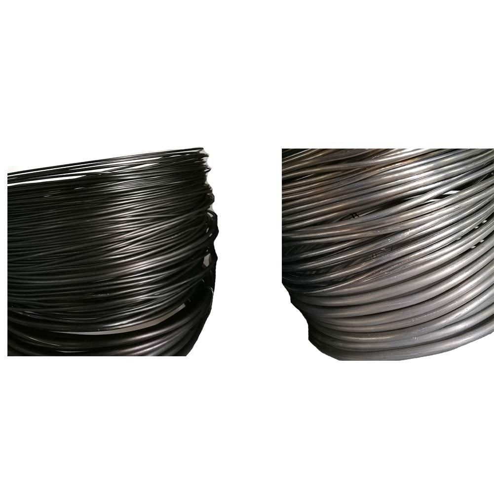 3,5 mm//4 mm//5 mm//6 mm de Grosor Black 3.5mm HONGY Alambre Flexible para /árbol de jard/ín y Plantas de Flores Tama/ño Libre 1 Rollo de Alambre de Aluminio anodizado para bons/ái