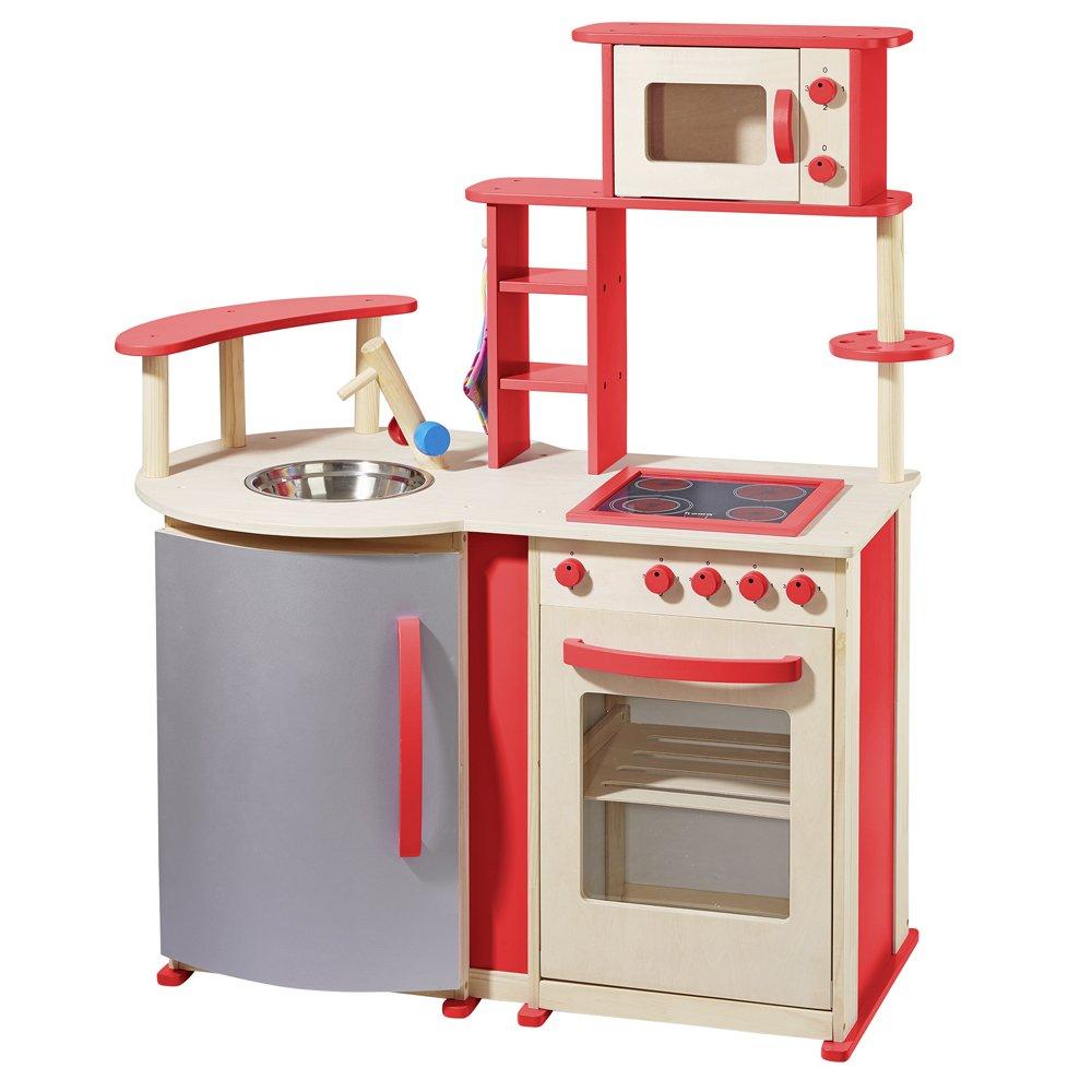 Kinderküche Rot - howa Spielküche Rot