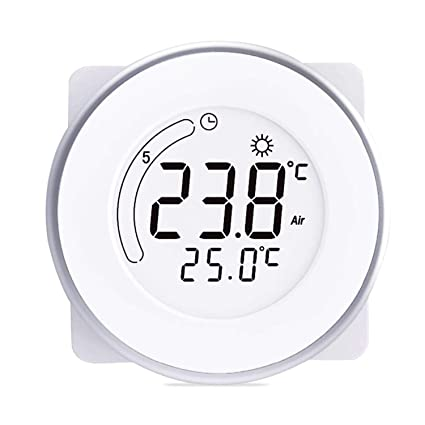 Amazon com: I'll be waiting for you here Circular Digital Thermostat