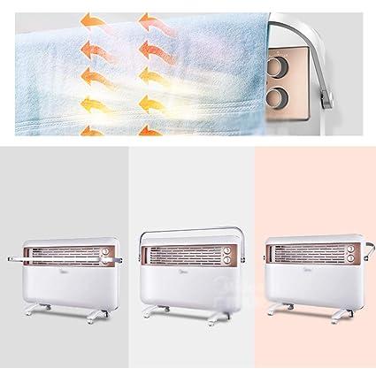 WLH-calefactores electricos Calentador eléctrico de convección, Panel de baño silencioso Impermeable, radiador, Ahorro de energía en el hogar y bajo ...