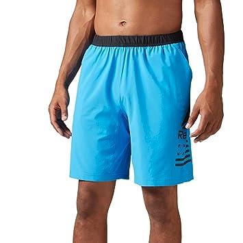 Reebok Men's Speed Shorts, Horizon Bluer, Large