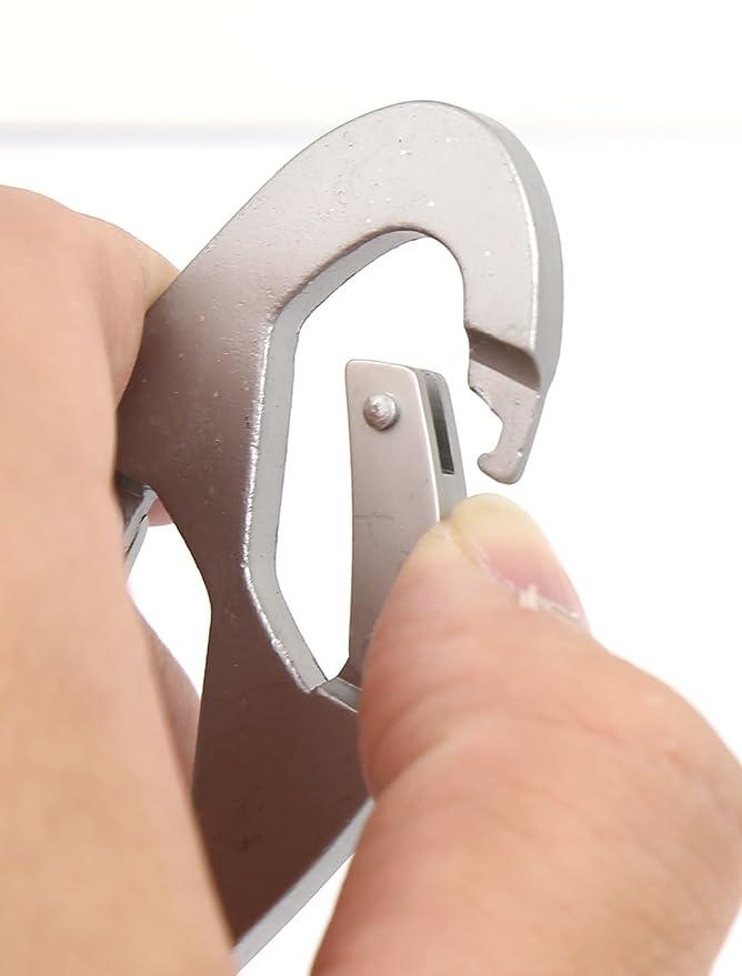 Amazon.com : eDealMax Metal 8 Forma de resorte gancho ...