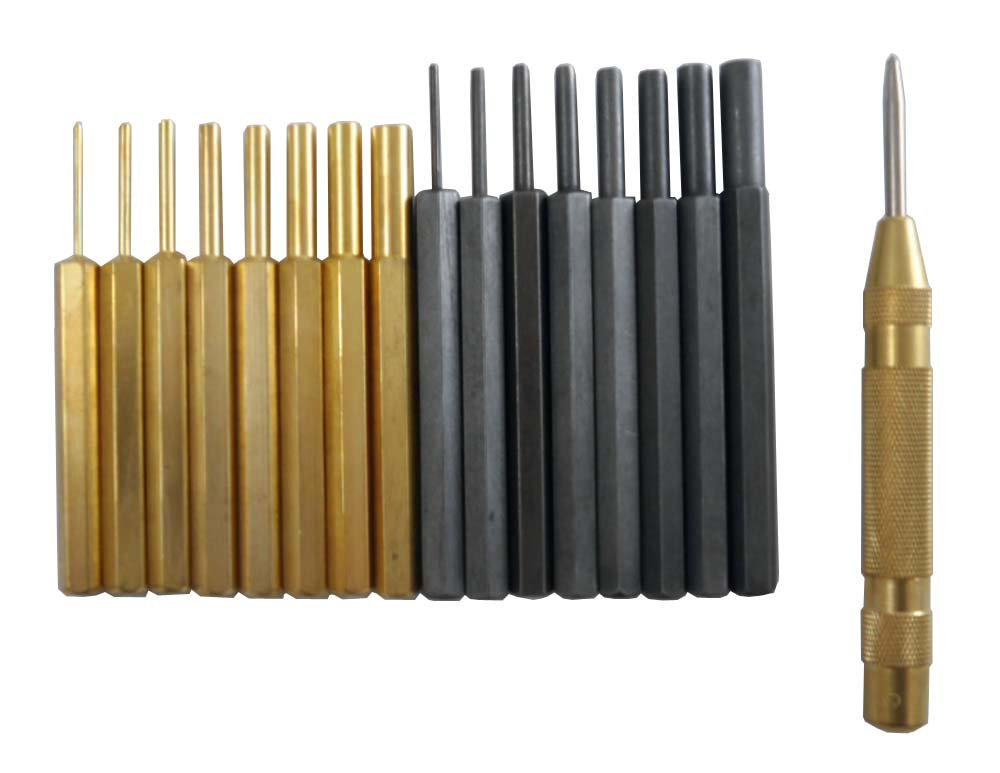 WEDGE: 18 Piece Brass and Steel Punch Set by WEDGE (Image #1)