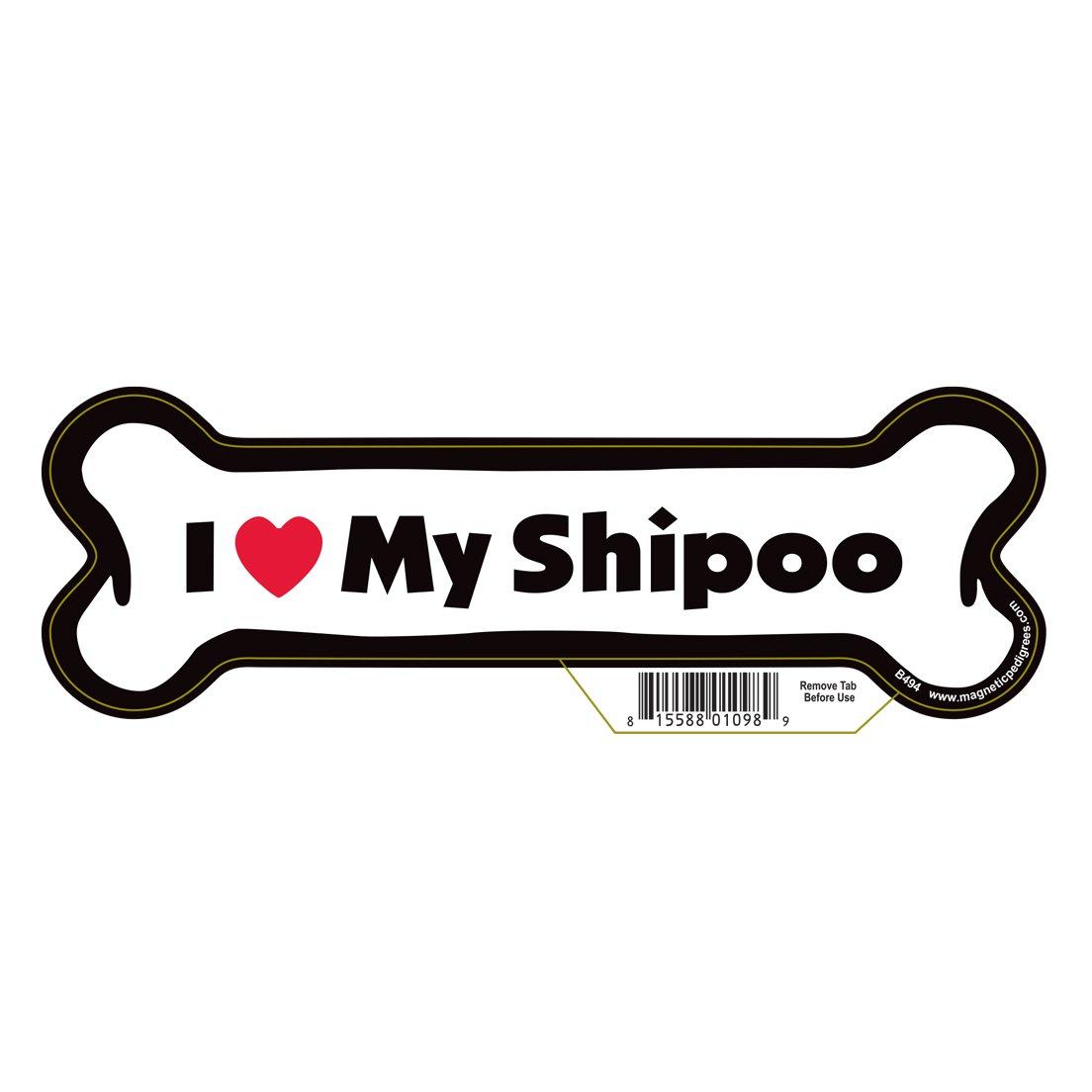 Shipoo Dog Bone Magnet