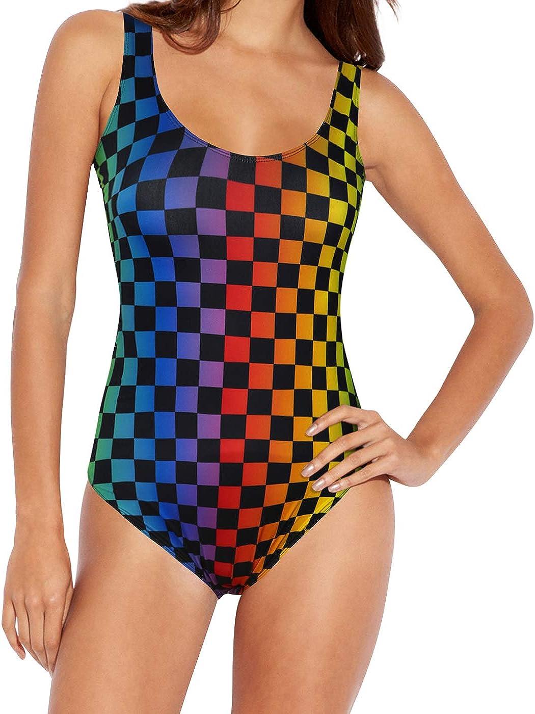 HDE Plus Size Rave Bodysuit - Sparkly Rave Clothes for Women – Festival Clothing