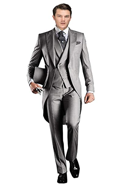 Amazon.com: YBang Traje de tux clásico para hombre, 3 piezas ...