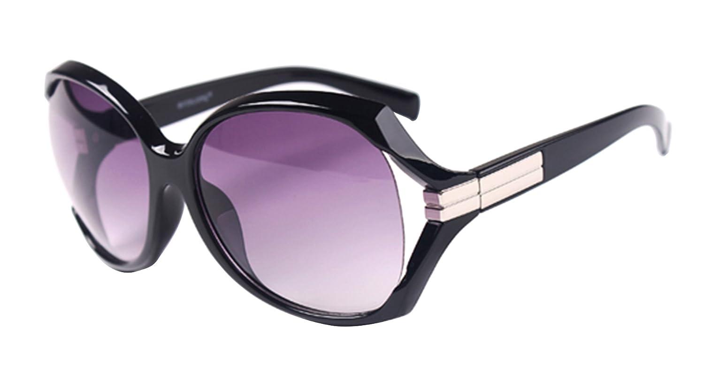 UNbox Women's Celebrity Oversized Anti UV Sunglasses Shades