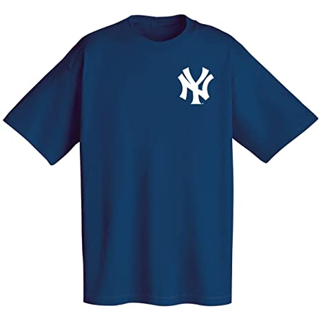Amazon.com   MLB New York Yankees Wordmark T-Shirt 9d60b9b423a