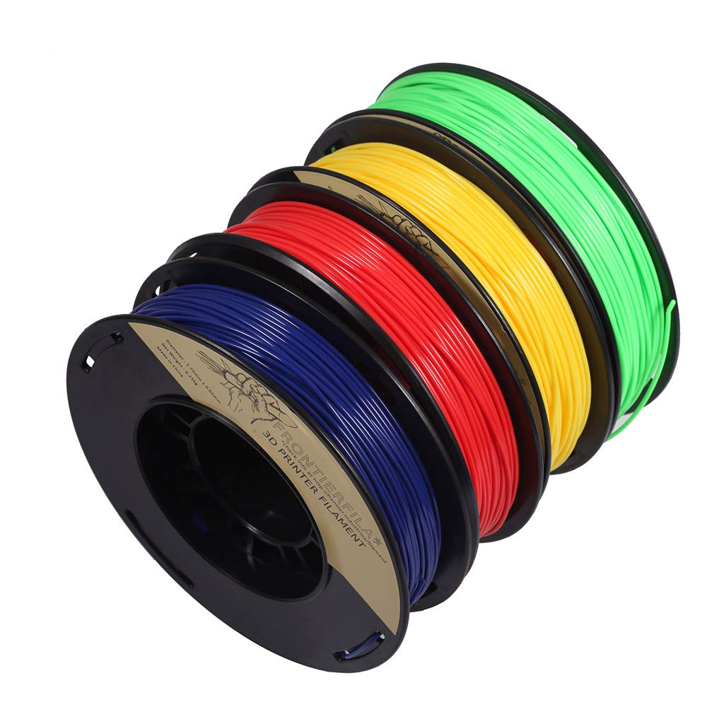 PLA 1.75mm 4x250g azul/rojo/amarillo/verde - Filamento para ...