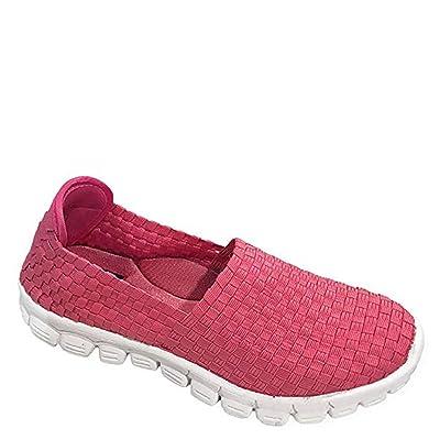 Zee Alexis Stella-A Black Slip ON Watermelon, 8 | Fashion Sneakers
