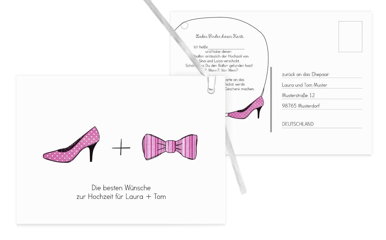 Ballonkarte High Heel und Fliege, 100 Karten, HellRot B07CQDMB8N | | | Sonderkauf  | Beliebte Empfehlung  | Lebensecht  dbfb86