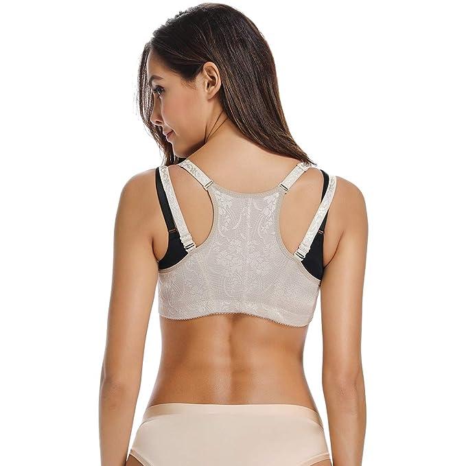 Posture Corrector Shapewear for Women Compression Bra Chest Brace Up  Support Tops Vest Shaper