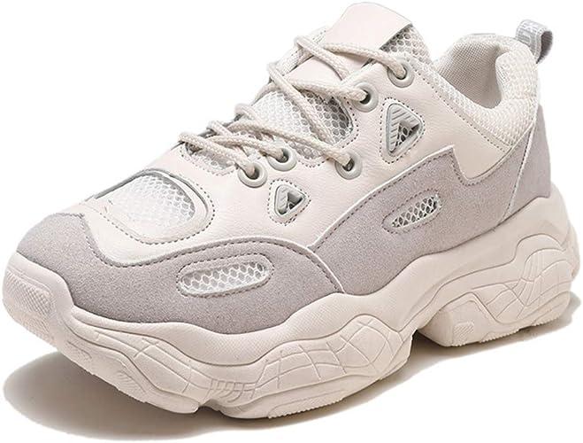 Dilnot Zapatillas para Mujer Correr Gimnasio Sneakers Zapatos de Seguridad: Amazon.es: Zapatos y complementos