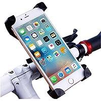 Jstbuy Bike Phone Mount Holder, Universal Adjustable Bicycle Cell Phone Holder Cradle Stand Motorcycle Rack Handlebar Smartphone