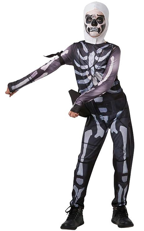 ead3278efb7 Fortnite - Disfraz Skull Trooper para niños