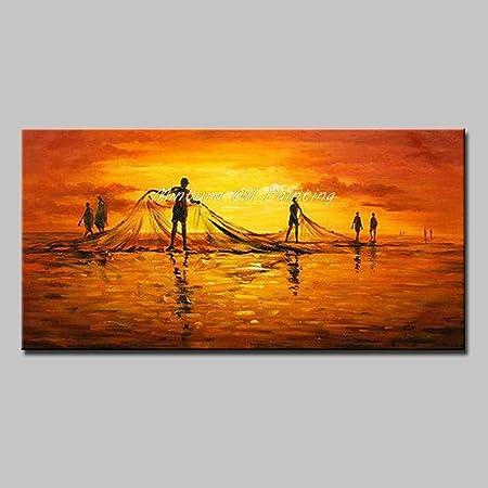 Consejos: estas pinturas solo se pintan en lienzo SIN ningún marco interior o exterior. Se embalan e
