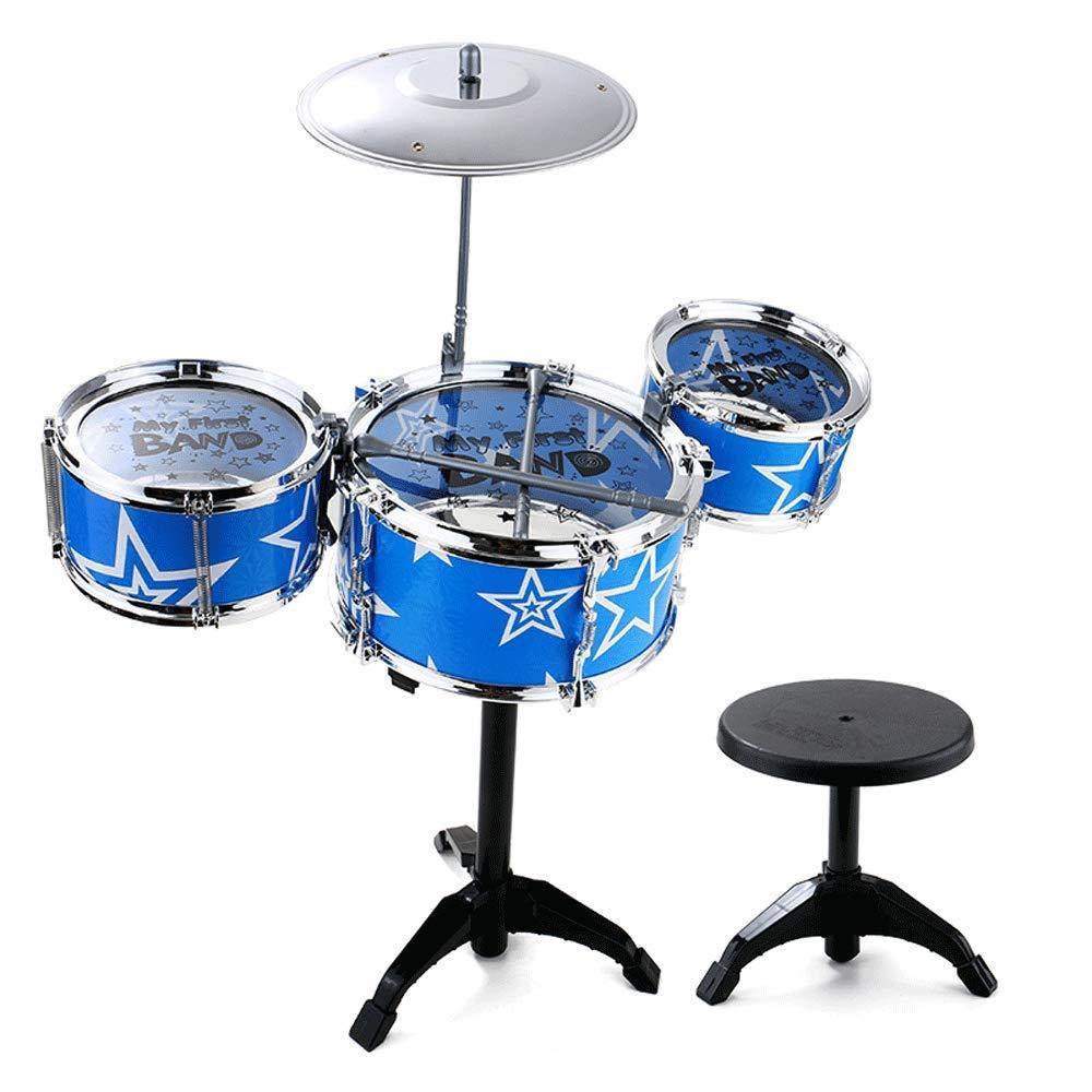 marcas en línea venta barata Little Toys Educativo para niños niños niños Batería Tambores Instrumento de percusión Bebé Música Infantil Ayuda didáctica Juguete Tambor Juguetes de Desarrollo Intelectual (Tamaño : D)  el mas de moda