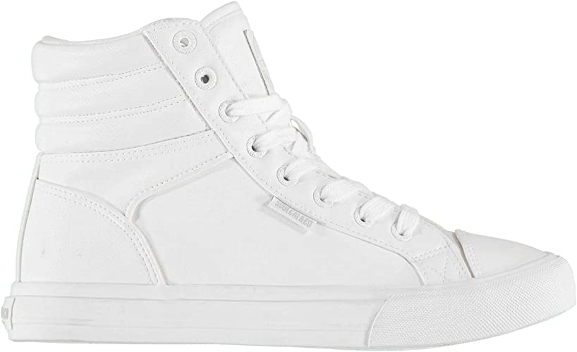 SoulCal Asti Chaussures De Sport Hautes Enfants Blanc 38 EU