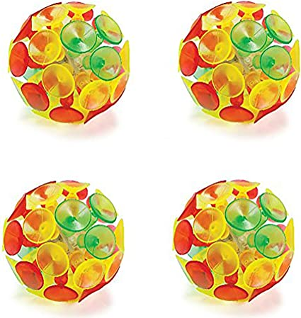 Pack of 12-4.75 Inches Assorted Bright Colors Fun Game Party Favors Toy for Kids Boys and Girls Prize Bag Stuffers Kicko Mini Plastic Smile Face Paddle Balls